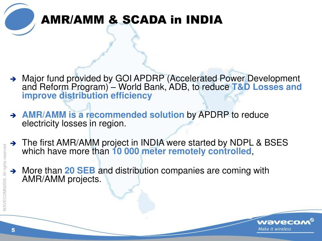 AMR/AMM & SCADA in INDIA