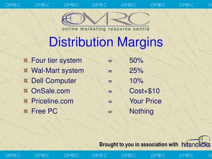 Distribution Margins