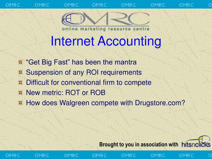 Internet Accounting