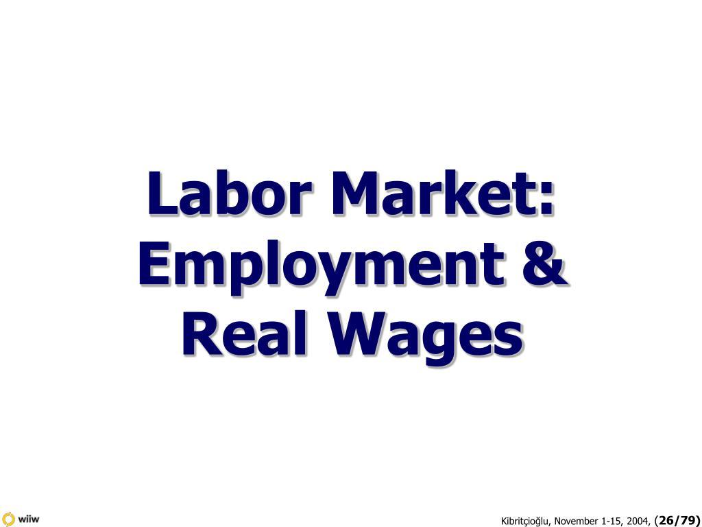 Labor Market:
