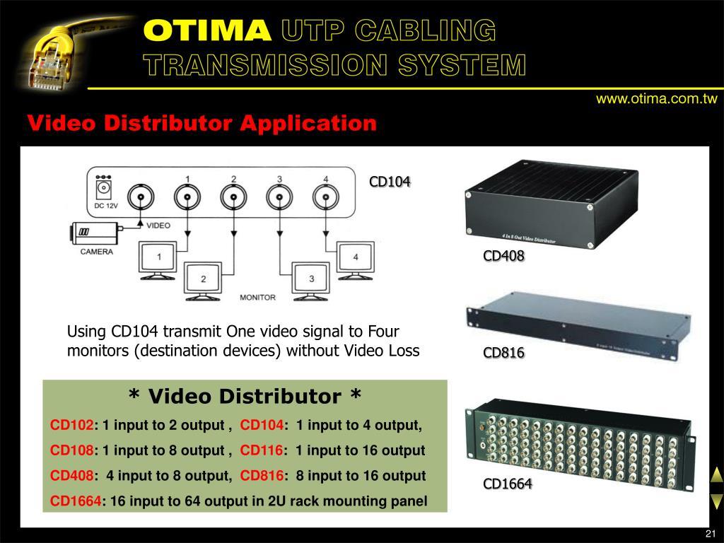 Video Distributor Application