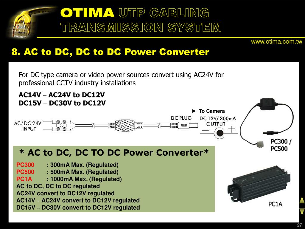 8. AC to DC, DC to DC Power Converter
