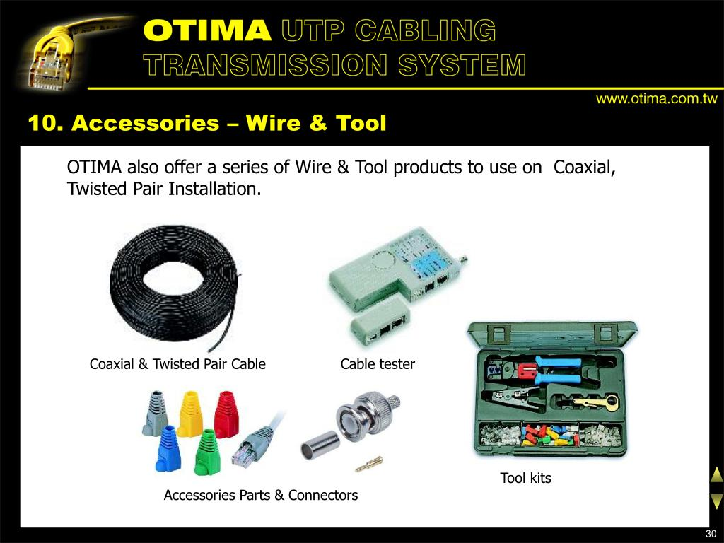 10. Accessories – Wire & Tool