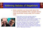 nattering nabobs of negativism