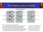the mathematical model