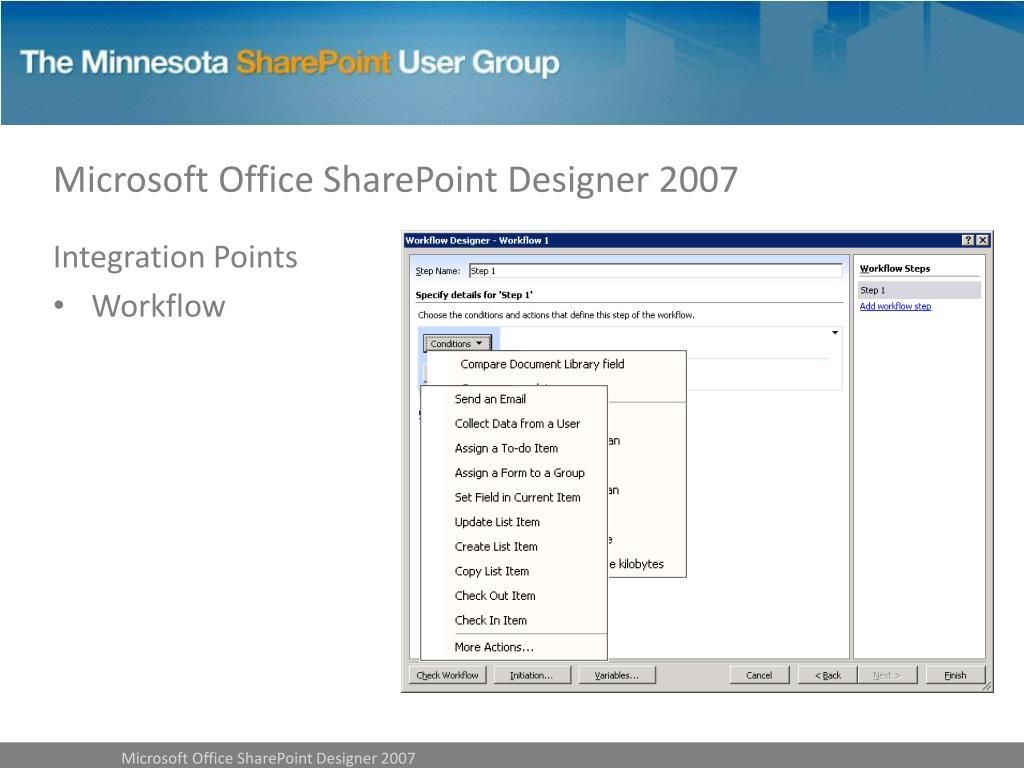 Microsoft Office SharePoint Designer 2007