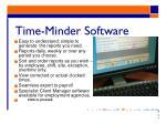 time minder software