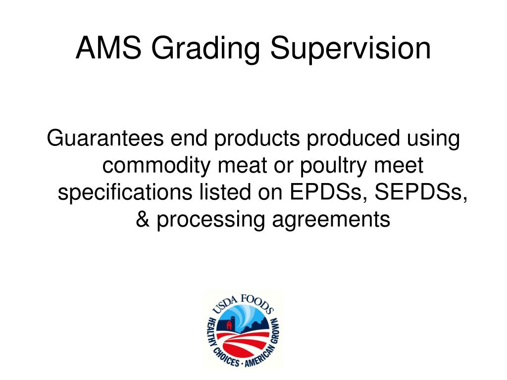 AMS Grading Supervision
