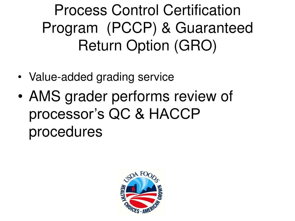 Process Control Certification