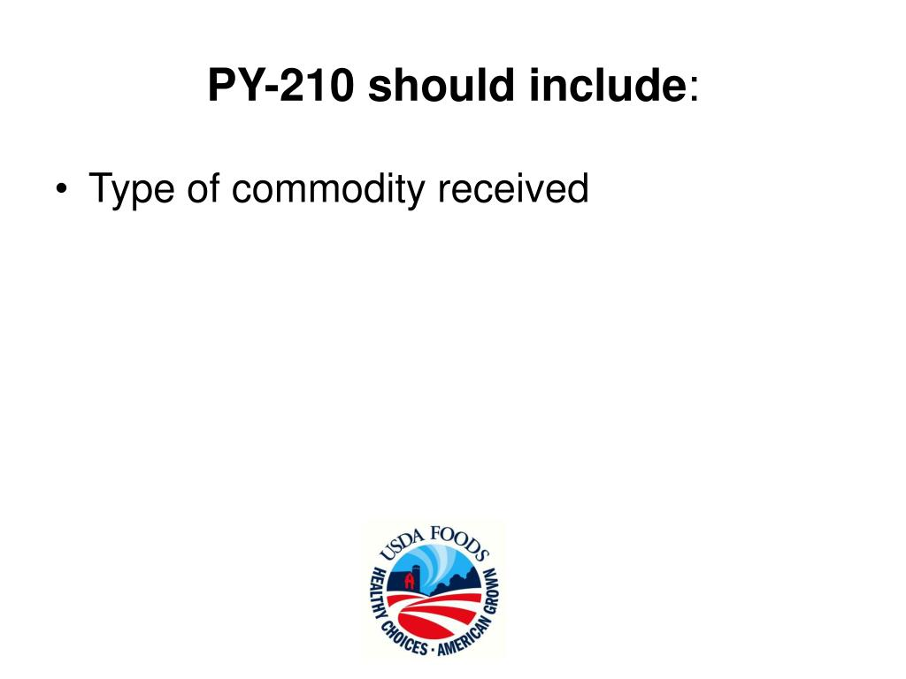 PY-210 should include