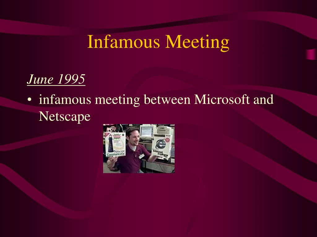 Infamous Meeting