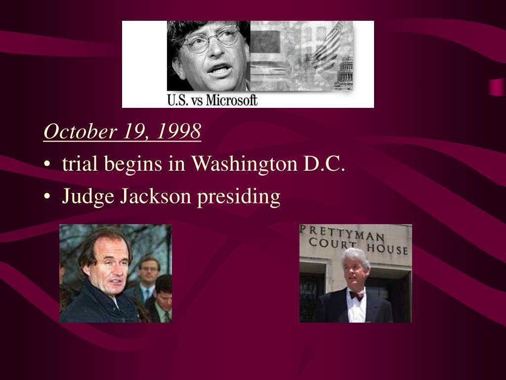 October 19, 1998