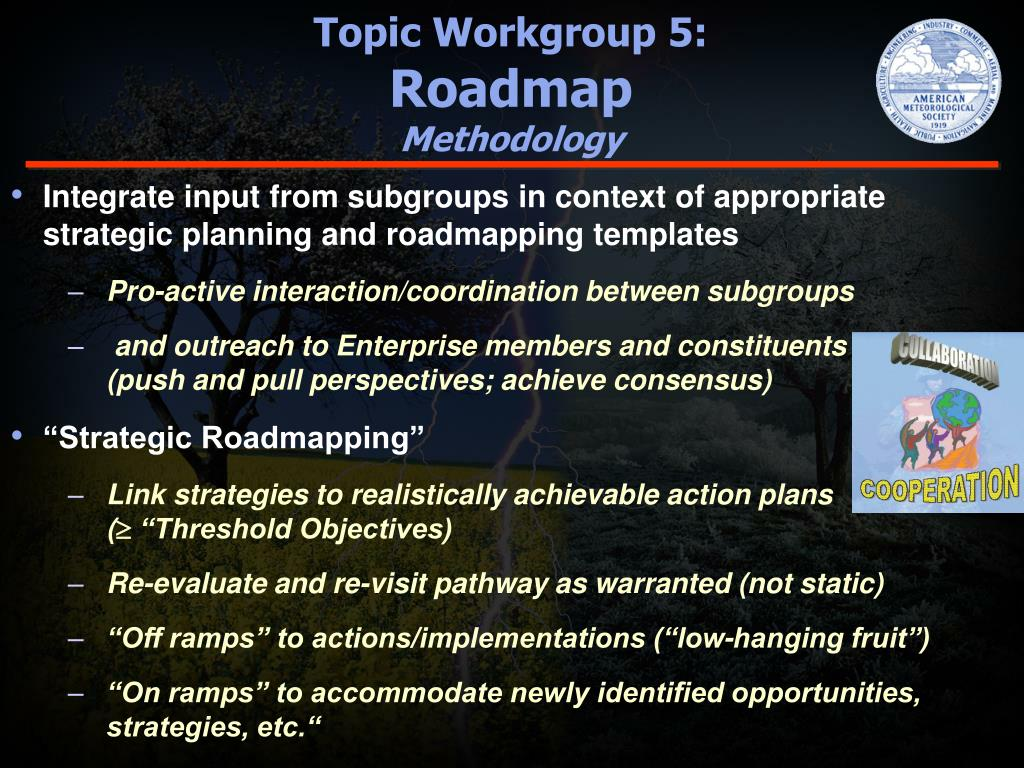 Topic Workgroup 5: