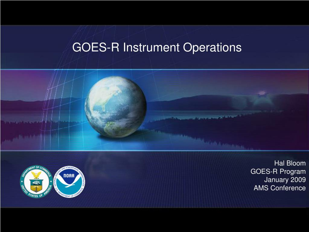 goes r instrument operations