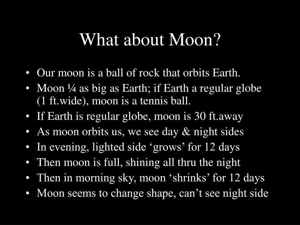 What about Moon?