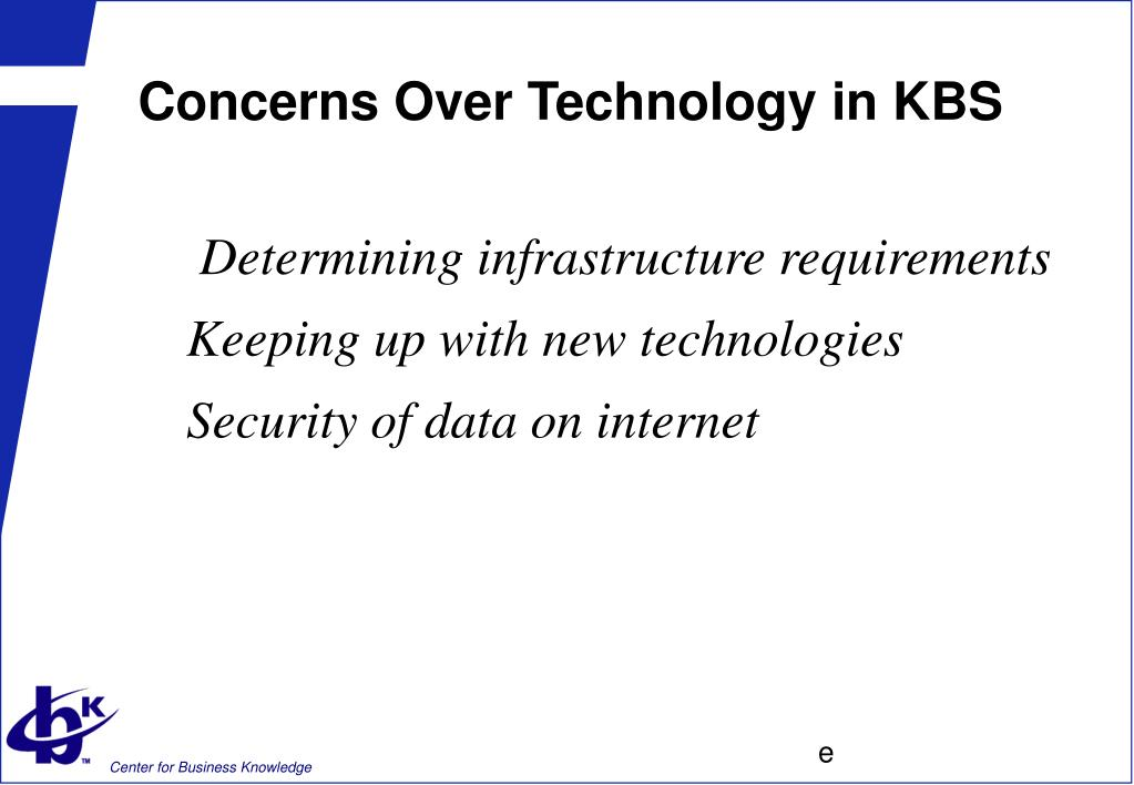 Concerns Over Technology in KBS
