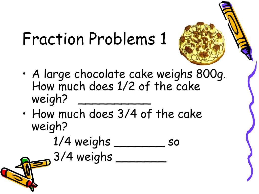 Fraction Problems 1