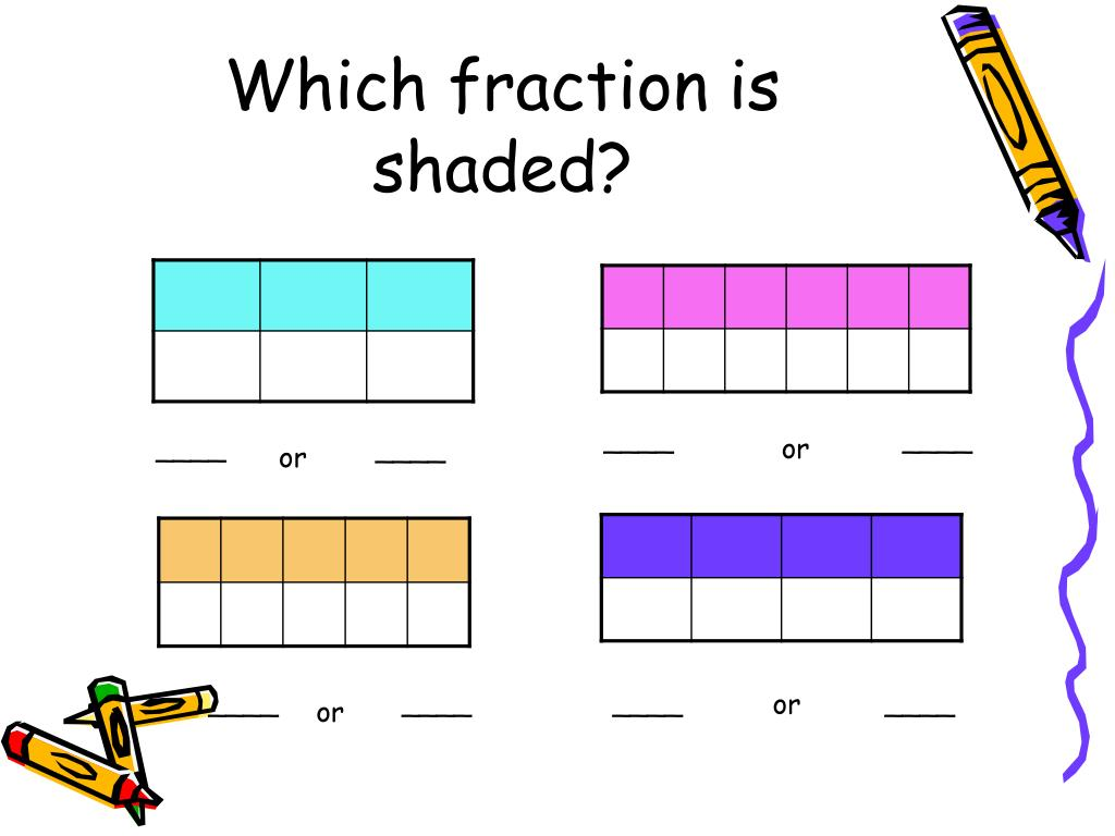 Which fraction is shaded?