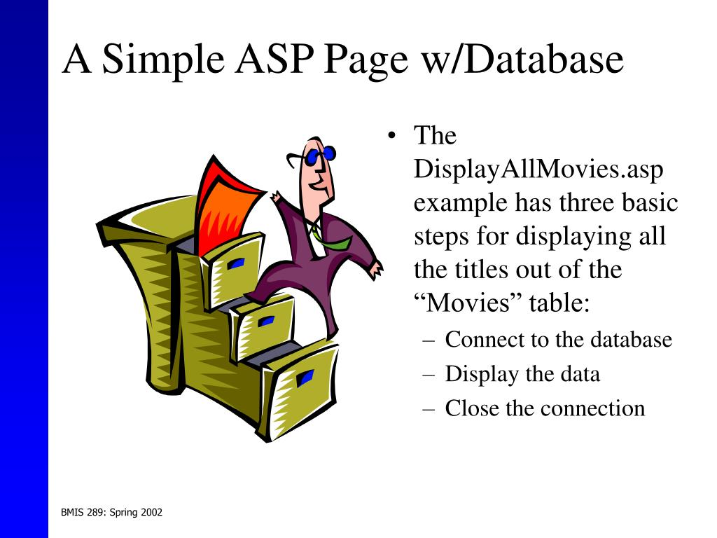 A Simple ASP Page w/Database