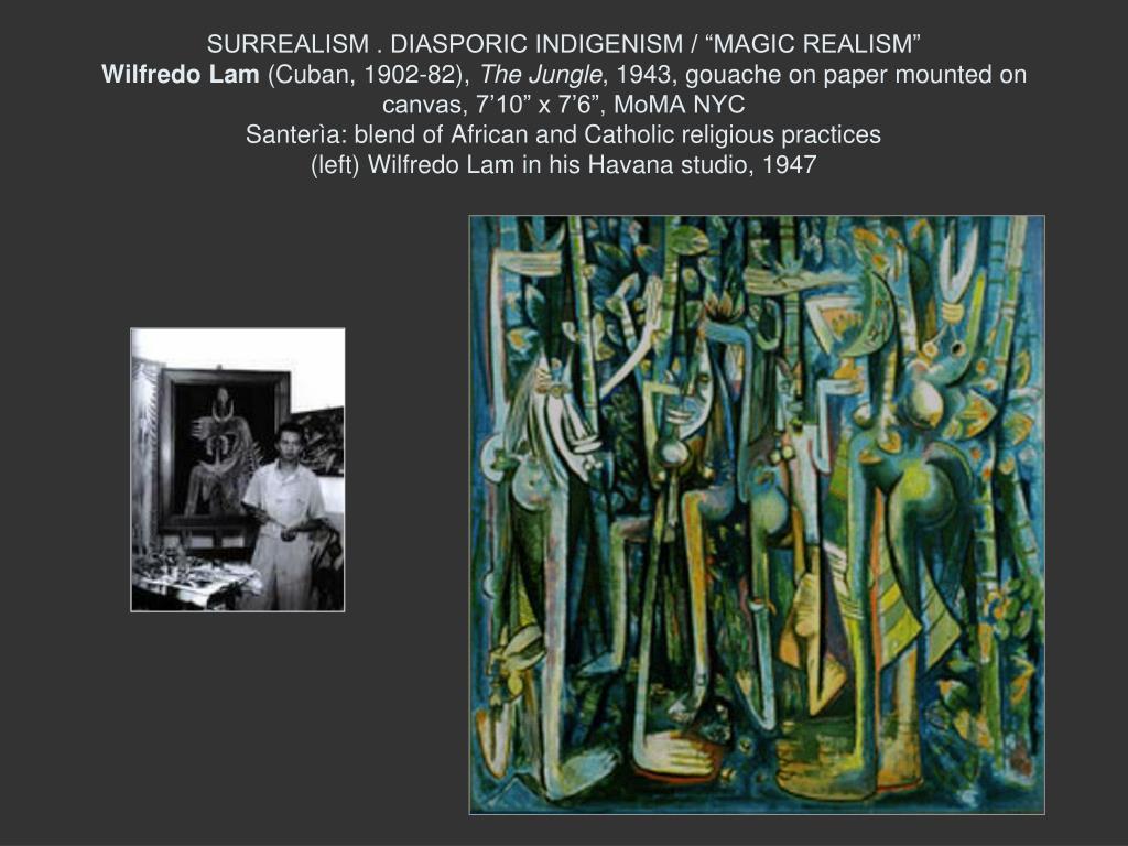 """SURREALISM . DIASPORIC INDIGENISM / """"MAGIC REALISM"""""""