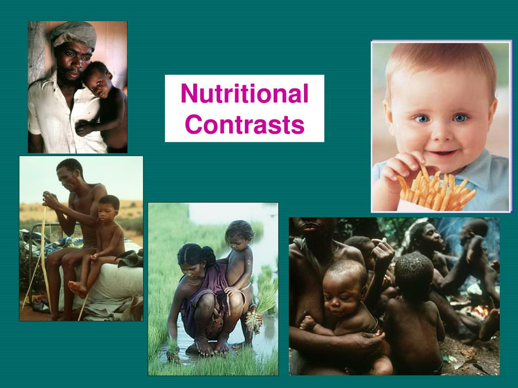 Nutritional Contrasts