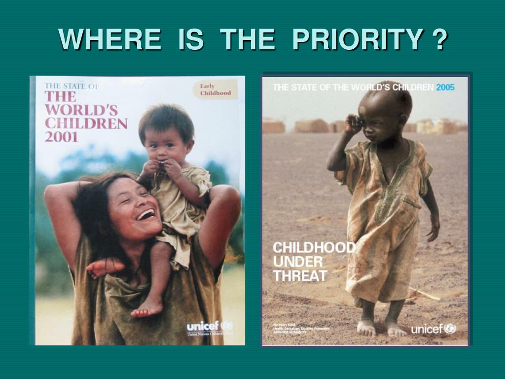 WHERE  IS  THE  PRIORITY ?