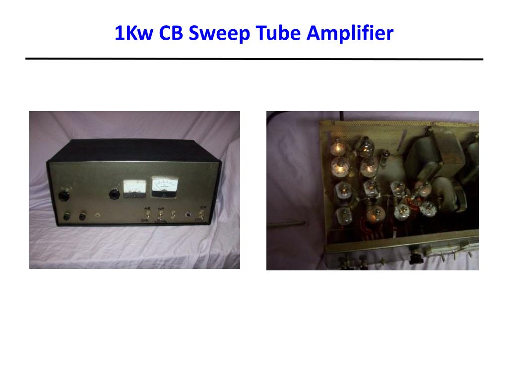 1Kw CB Sweep Tube Amplifier