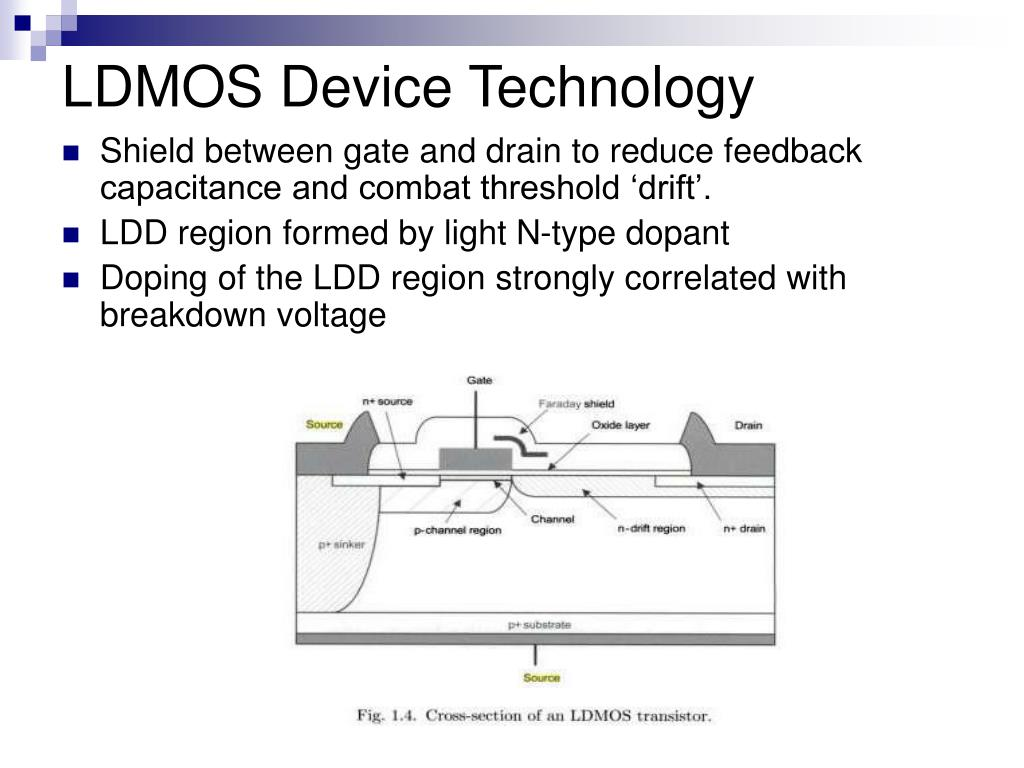 LDMOS Device Technology