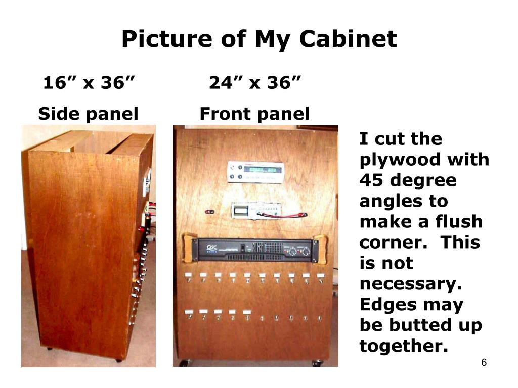 Picture of My Cabinet