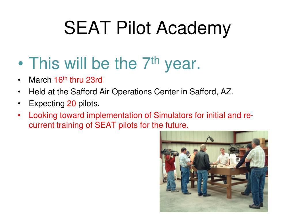 SEAT Pilot Academy