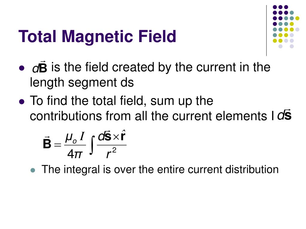 Total Magnetic Field