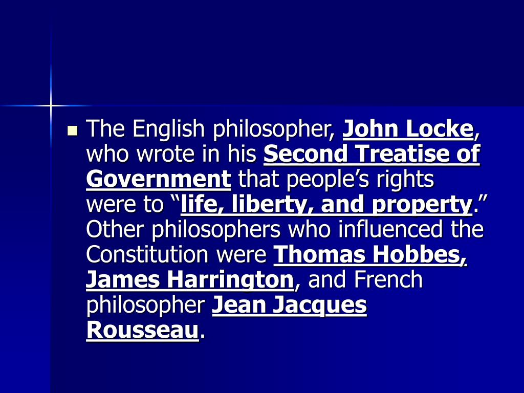 The English philosopher,
