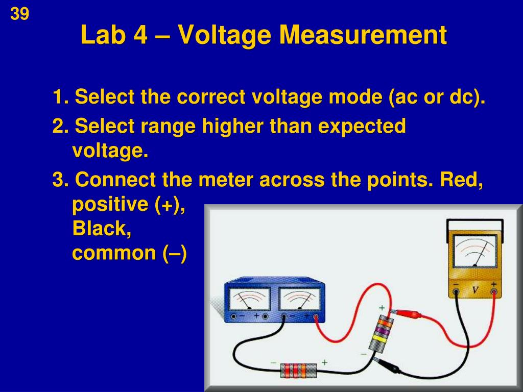 Lab 4 – Voltage Measurement