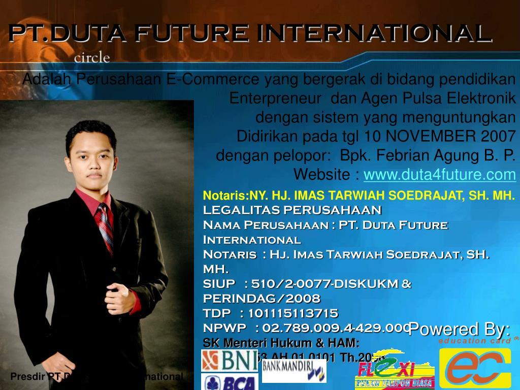 PT.DUTA FUTURE INTERNATIONAL