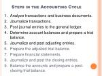 steps in the accounting cycle35