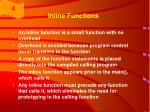 inline functions60