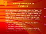 passing addresses to functions41
