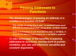 passing addresses to functions45