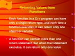 returning values from functions30