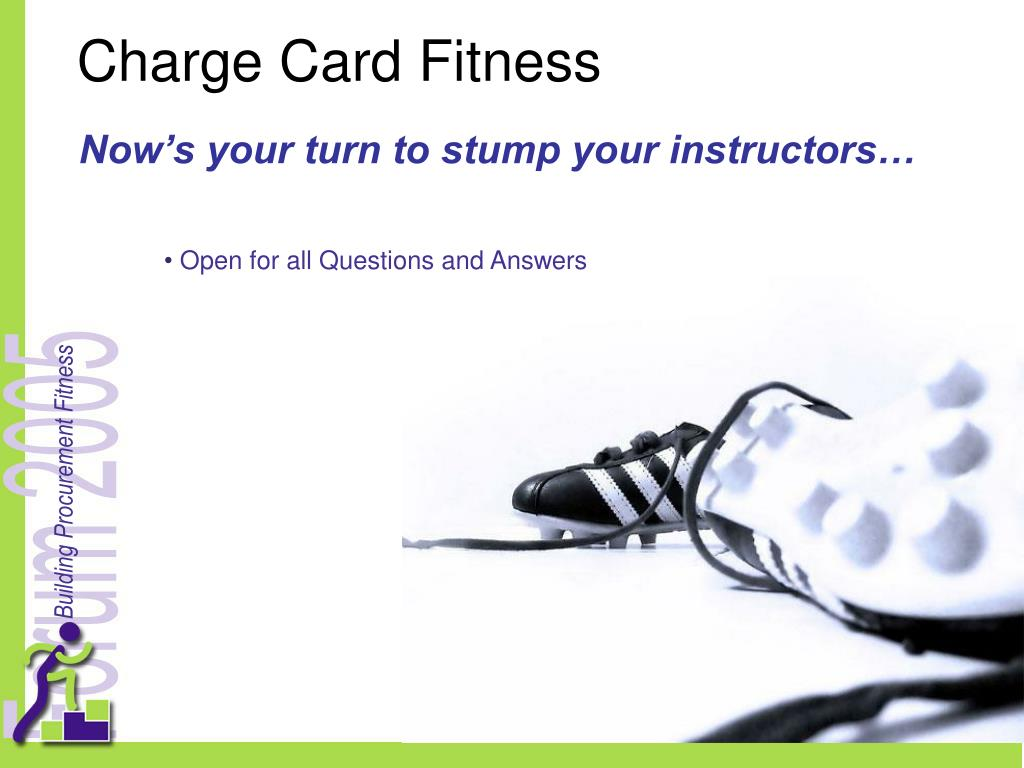 Charge Card Fitness