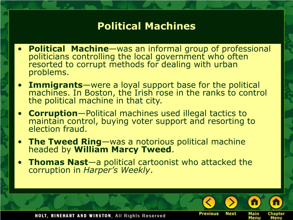 Political  Machine
