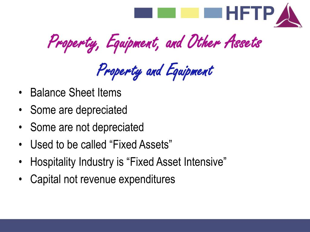 Property, Equipment, and Other Assets