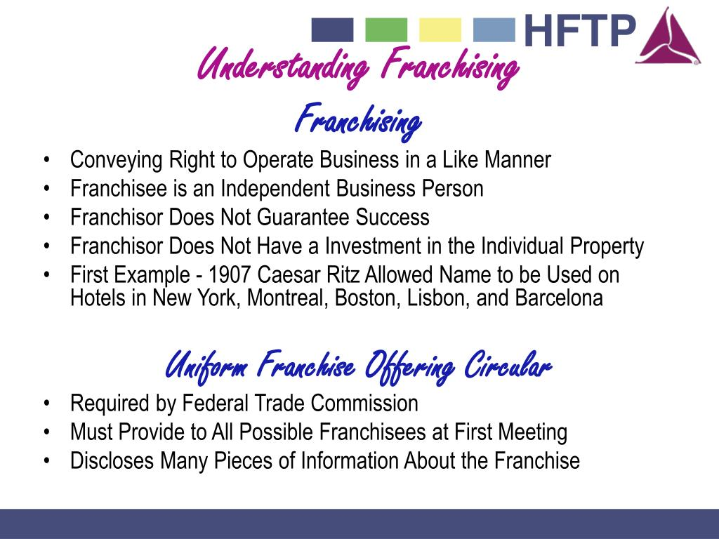 Understanding Franchising