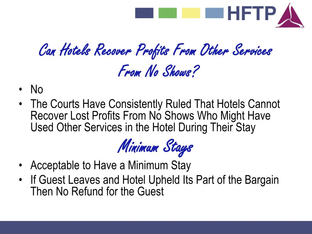 Can Hotels Recover Profits From Other Services