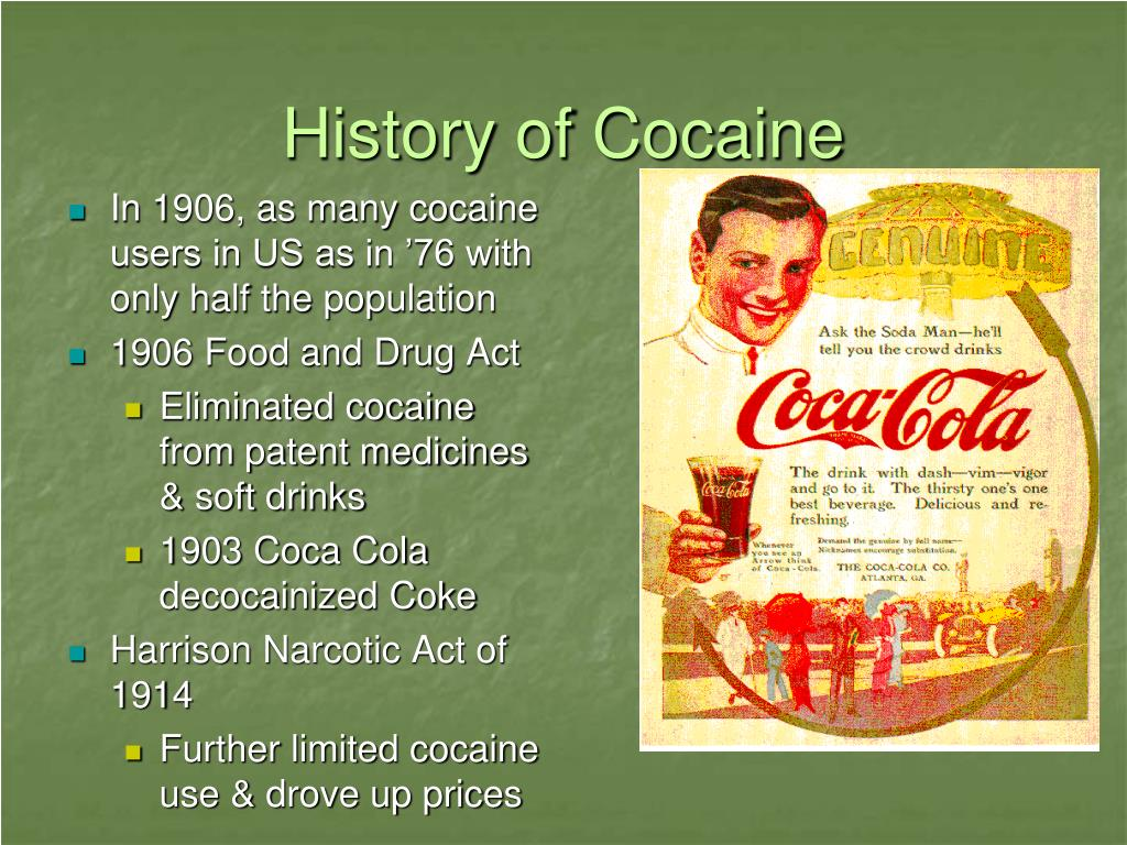A Closer Look at the History and Use of Cocaine