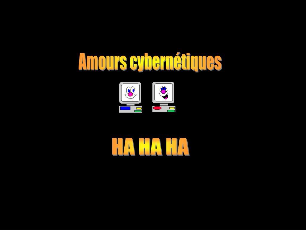 Amours cybernétiques