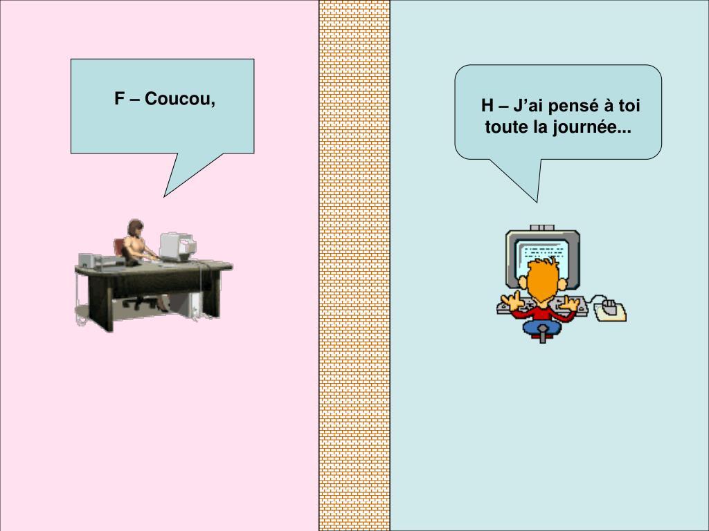 F – Coucou,