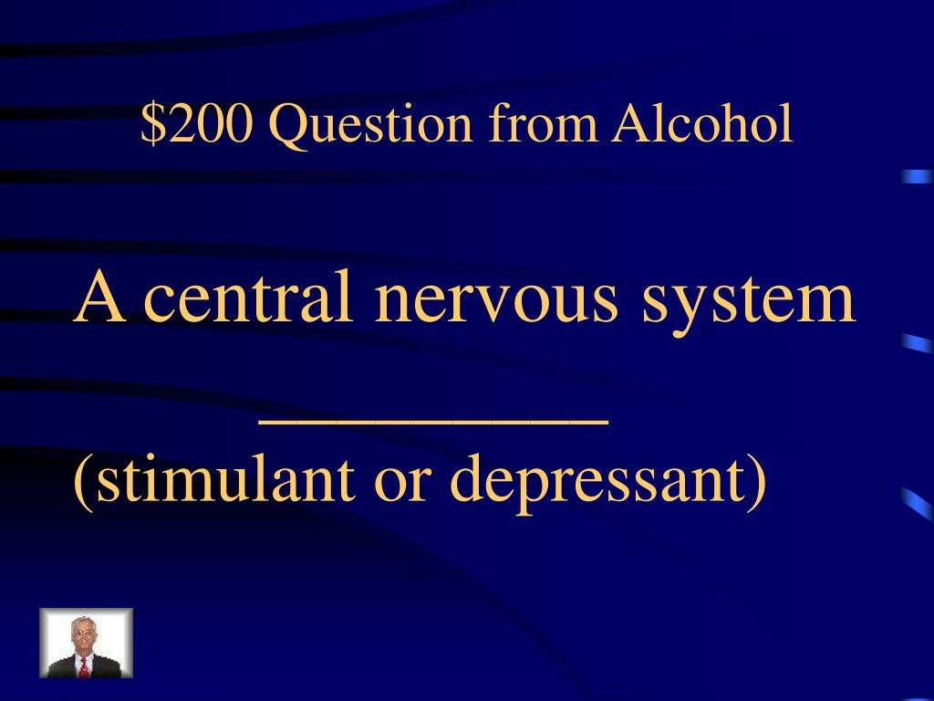 $200 Question from Alcohol