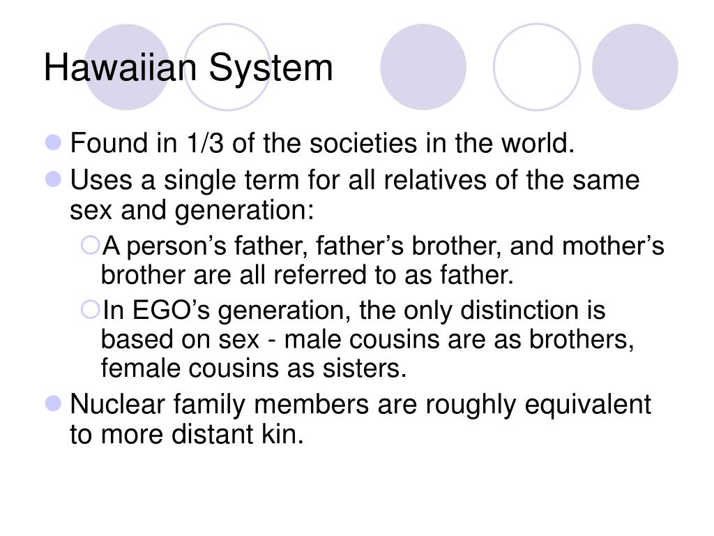 Hawaiian System