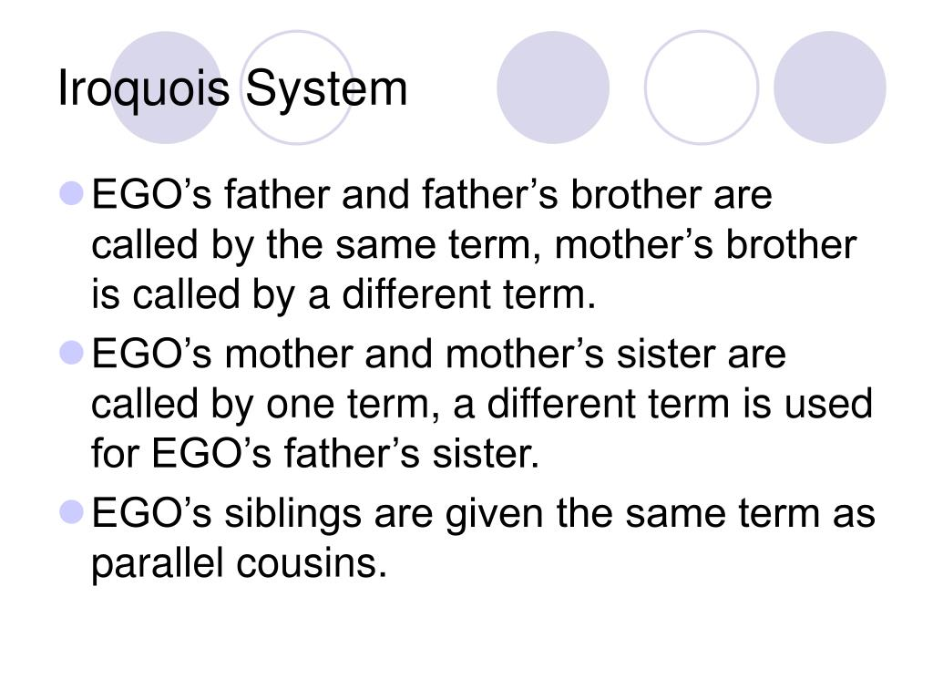 Iroquois System